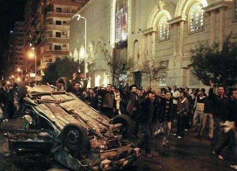 Times of Malta - Saturday, 1st January 2011 - 12:09CET - 21 dead in Coptic Church bombing in Egypt